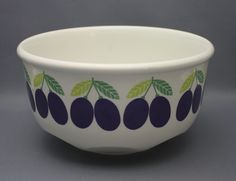 Arabia, bowl, Pomona, Raija Uosikkinen