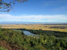 paesaggio sulla #pianurapadana dalle colline del #monferrato