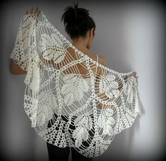 light and delicate shawl