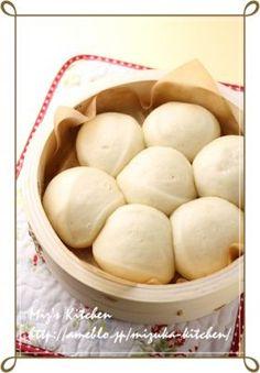 「ふんわり中華蒸しパン」Mizuka | お菓子・パンのレシピや作り方【corecle*コレクル】