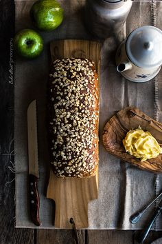 Pan de molde de semi