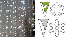 cómo hacer copos de nieve