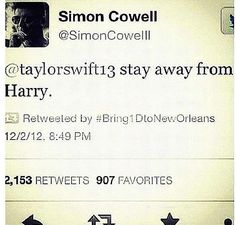 :):):) You heard the man, Stay away from harry....Swifty, No Swifting. Swifty, no Swifting. Swifty, No Swifting