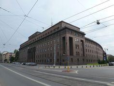 Erbaut nach Plänen des Architekten Konrad Dammeier,eröffnet 1929.   Breslau Schlesien