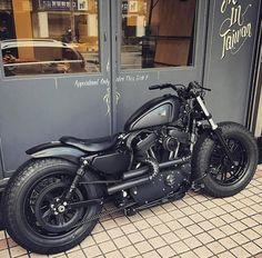 New Bobber Motorcycle Harley Davidson Iron 883 40 Ideas Harley Davidson Sportster 883, Motos Harley, Custom Sportster, Hd Sportster, Harley Bikes, Harley Davidson Chopper, Harley Davidson Motorcycles, Custom Choppers, Chopper Motorcycle
