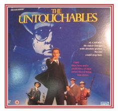LASERDISC COVERS AND FULL DISC THE CLASSIC THE UNTOUCHABLES