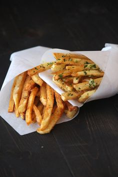 French Fries - Two Ways - Handle the Heat