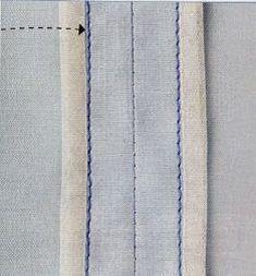 O acabamento Hong Kong é uma técnica utilizada alta costura em roupas de grife. Mas porque é simples e dá o interior do vestuário um acabamento muito elegante, tornou-se o favorito de muitos. Basicam