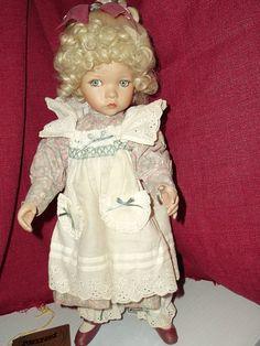 Seymour Mann Porcelain Dolls   Porcelain Doll - Seymour Mann Connoisseur Collection by Dianna Effner