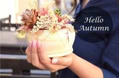 #autumn #holding #autumnflowers