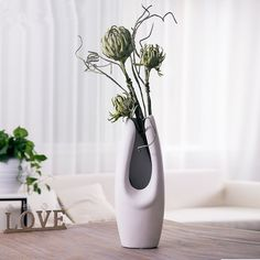 nordic style unique flower vase floor vase large vase bud vase