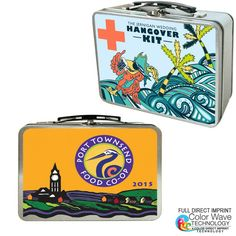 Small in size but big in statement- our new small tin lunch box will bring back many nostalgic memories for some, as well as many great new promotional ideas. The extra-large imprint area can be decorated in a variety of ways including silk screening, 4 color laminated decal, and our new 4 color direct imprinting. Great for Fathers day, customer appreciation, employee recognition, Christmas giveaways, etc. It can be used for business and office gifts, hotel hospitality, movie promotions…