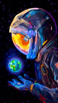 Graffiti Wallpaper, Neon Wallpaper, Wallpaper Space, Cartoon Wallpaper, Space Drawings, Space Artwork, Dope Wallpapers, Animes Wallpapers, Astronaut Wallpaper