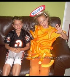 Cool Mac-n-Cheese Costume for Any Age… Coolest Halloween Costume Contest