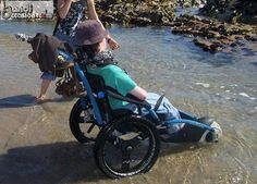 Hypocampe :fauteuil randonnée et plage, bai...