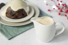 No British Christmas would be the same without a traditional Christmas pudding with a dollop of an easy to make delicious brandy sauce poured over it.