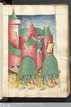 125 [62r] - Ms. germ. qu. 15 - Bellifortis - Page - Mittelalterliche Handschriften - Digitale Sammlungen