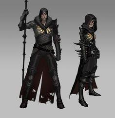 Dragon Age II - Мэтт Роудс: Концепт арты – За кулисами