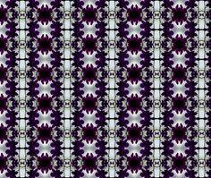 Sarong Ink Blot fabric by ladycaviar on Spoonflower - custom fabric
