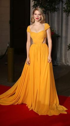 BAFTAs 2015 - LÉA SEYDOUX in PRAD