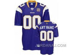 http://www.jordanaj.com/customized-minnesota-vikings-jersey-youth-purple-50th-anniversary-patch-football.html CUSTOMIZED MINNESOTA VIKINGS JERSEY YOUTH PURPLE 50TH ANNIVERSARY PATCH FOOTBALL Only $60.00 , Free Shipping!
