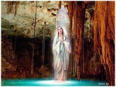 VERSCHIJNING VAN DE ONBEVLEKTE ONTVANGENIS  TE LOURDES   11 februari               Vandaag gedenken wij de Hemelse Moeder, zoals deze...