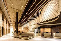 Contemporary Concept of Beograd Hotel by CRAFT reception corner 1