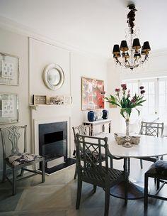 Silvia Home Decor: O conforto das Cadeiras de Jantar!!!