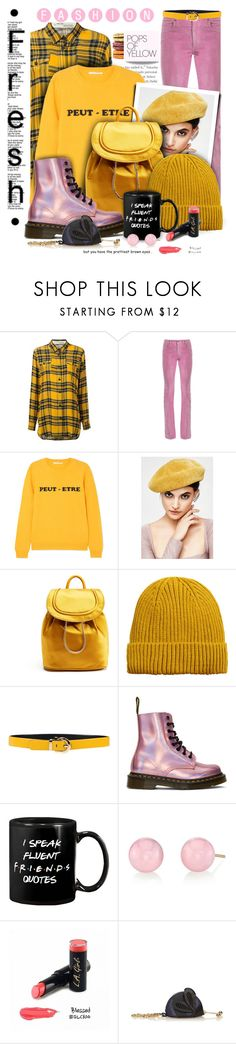 """""""Fresh as the morning sun"""" by angiesprad ❤ liked on Polyvore featuring Gucci, Chinti and Parker, Diane Von Furstenberg, MANGO MAN, Salvatore Ferragamo, Dr. Martens, Irene Neuwirth and Burberry"""
