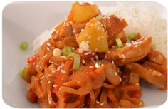 Sweet and sour chicken (slow cooker)