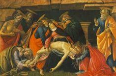 """As obras sobre a Lamentação aparecem frequentemente em ciclos sobre a """"Vida de Cristo"""" e também como obras individuais"""