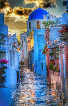 SANTORINI ( GRECIA )..