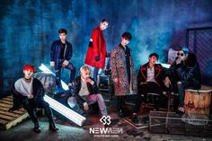 BTOB releases red and blue photos for 'New Men'   allkpop.com