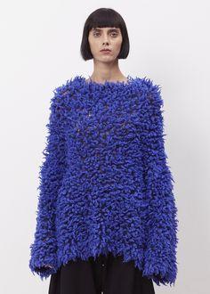 Issey Miyake Flare Knit (Blue)
