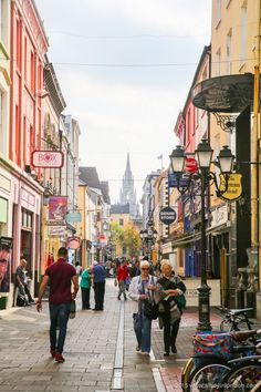 36 Hours in Cork, Ireland! There's a lot to see and do in this vibrant city, including a lot of colorful buildings and fun markets and pubs! Not far from Aunty Nellie's on Paul St. Cork is just a beautiful place to visit any time