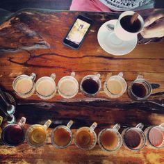 Coffee tasting in Ubud, Bali.