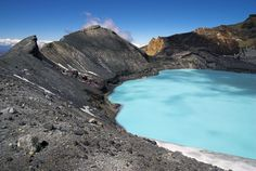 Crater Lake of Mount Ruapehu - Tongariro National Park