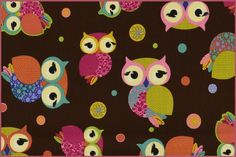 owls, French terry 3006