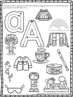 Letras Recipes food with drinks Alphabet Activities, Educational Activities, Preschool Activities, Spanish Activities, Preschool Spanish, Teaching Spanish, Bilingual Education, Kids Education, Abc Centers