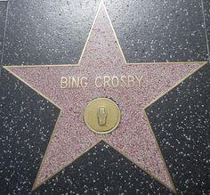 Bing Crosby's Walk of Fame star