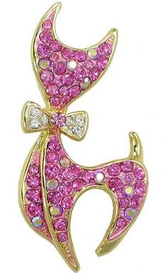 "Stylized Cat Pin (Pink) Arco Iris Jewelry. $12.00. Stylized Cat Pin (Pink). Width - 3/4"". High - 1-3/4"""