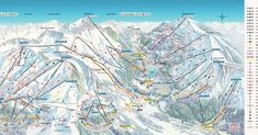 Winter Holidays in Arosa, Switzerland White Mountains, Trail Maps, Winter Holidays, Planer, Switzerland, Mount Everest, Skiing, Scenery, Fair Grounds