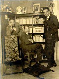 Saulo Torón, Tomás Morales y Alonso Quesada :: Archivo personal de Saulo Torón