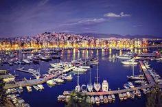 Sailing Holidays in Piraeus - Enjoy Sailing Holidays in Greece! Places In Greece, Sailing Holidays, Waterfront Restaurant, Greece Holiday, Parthenon, Athens Greece, Cruise Vacation, Night Life, Greece