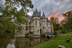 This Castle In France Is So Breathtaking... And It's On The Market?