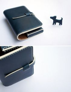 Handmade smart phone case ver.3 - Brand : dex+annery - 100% hand work - Material : Buttero leather (Italian Vegetable leather) - Serafil : No.20 (made in Germany) - Color : color table (10colors) - Compatibility : Apple iPhone / Samsung Galaxy - Including puppy pendent - Process time :