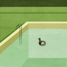 Alessandro Gottardo (aka Shout)  was born in Pordenone in 1977, best known for his incredibly sweet and surreal illustrations