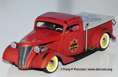 1953 Ford Pickup Hot Rod Diecast Scale Model by Danbury Mint