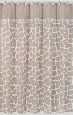 Giraffe Neutral Kids Bathroom Fabric Bath Shower Curtain by Sweet Jojo Designs Sweet Jojo Designs http://www.amazon.com/dp/B0076LFIXK/ref=cm_sw_r_pi_dp_wTjywb1Z1WASY