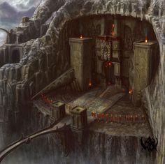 Entrée Forteresse Roi Elfes des Montagnes.